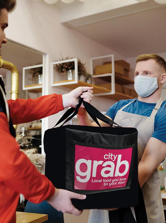 City Grab Form Image